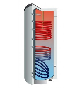Boiler bivalent TWS-2W 1000 Litri